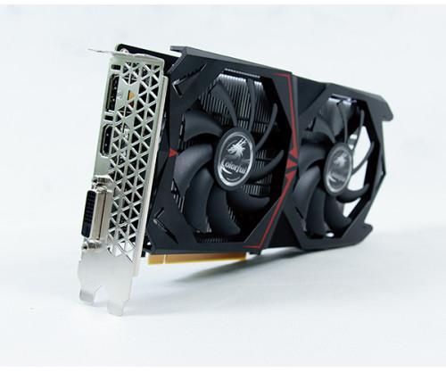 500x417Colorful GTX 1050ti 4GB DDR5 OC Dual fan 2