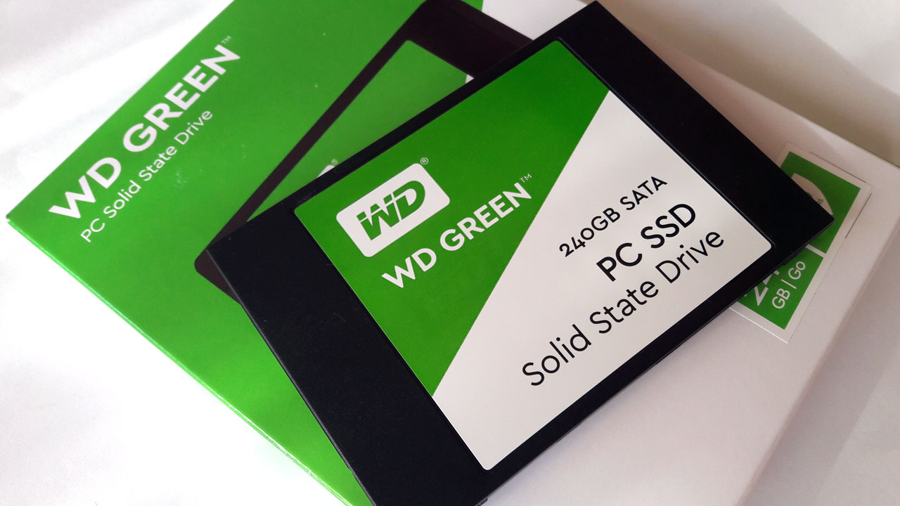 WD GREEN PC Solid State Drive 240GB SATA 2.5 SSD 03